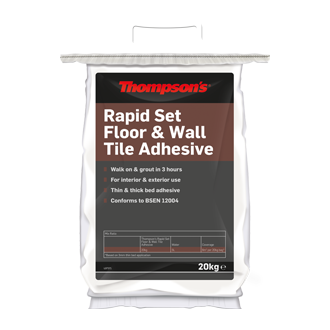 Rapid Set Tile Adhesive 20kg