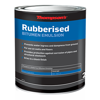 Rubberised Bitumen Emulsion 2-5L