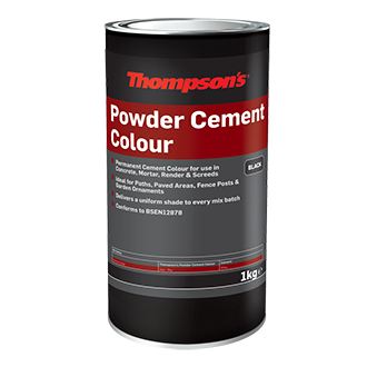 Powder Cement Colour Black 1kg